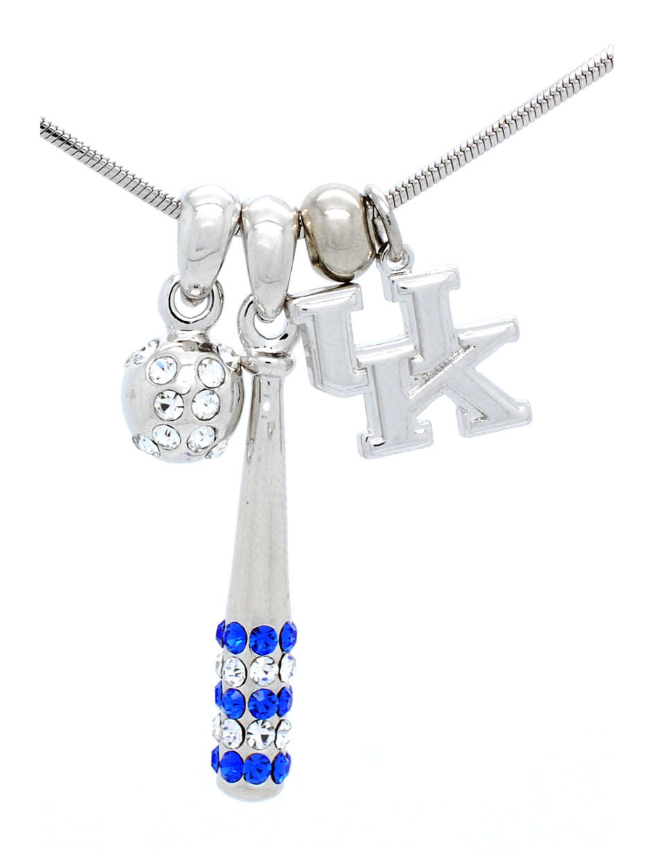 Kentucky Bat & Ball Necklace