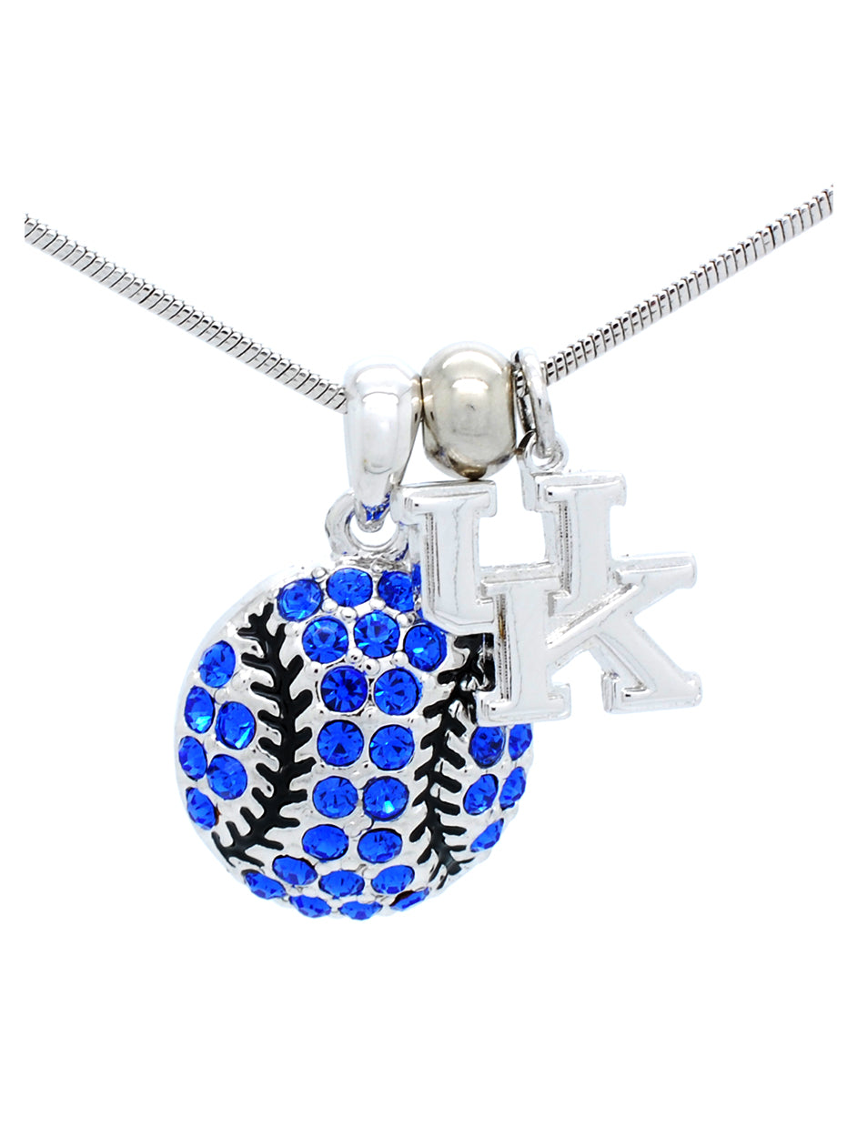 Kentucky Baseball/Softball Necklace