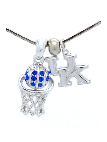 Kentucky Mini Basketball Necklace