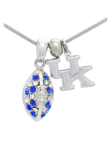 Kentucky Mini Football Necklace
