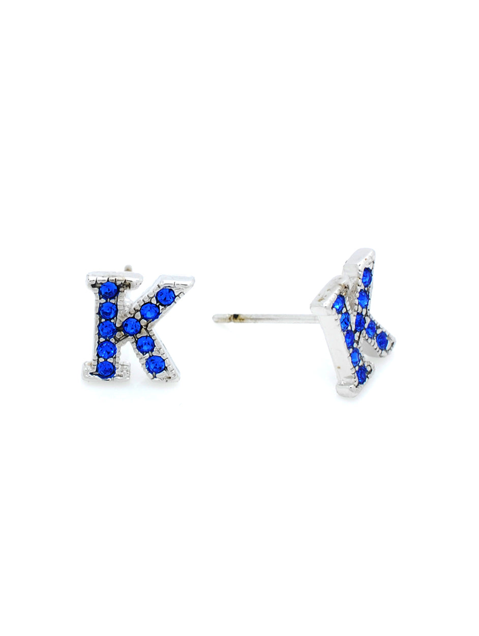 K Post Earrings - Royal