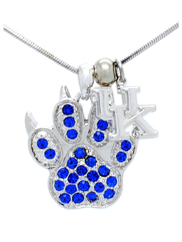 Kentucky Paw Necklace