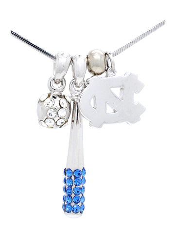 North Carolina Baseball/Softball Necklace