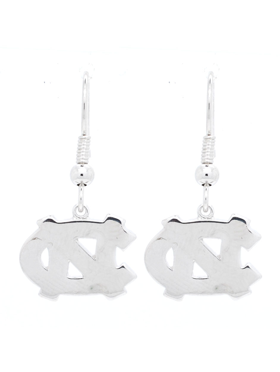 North Carolina Logo Dangle Earrings