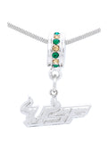 USF Deluxe Pendant Necklace/Bracelet Charm