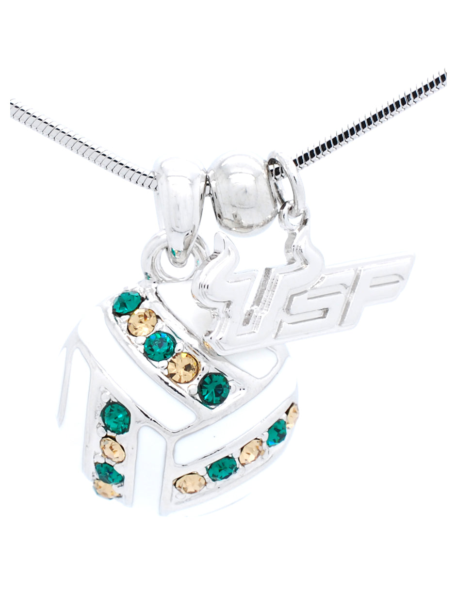 USF Volleyball Necklace