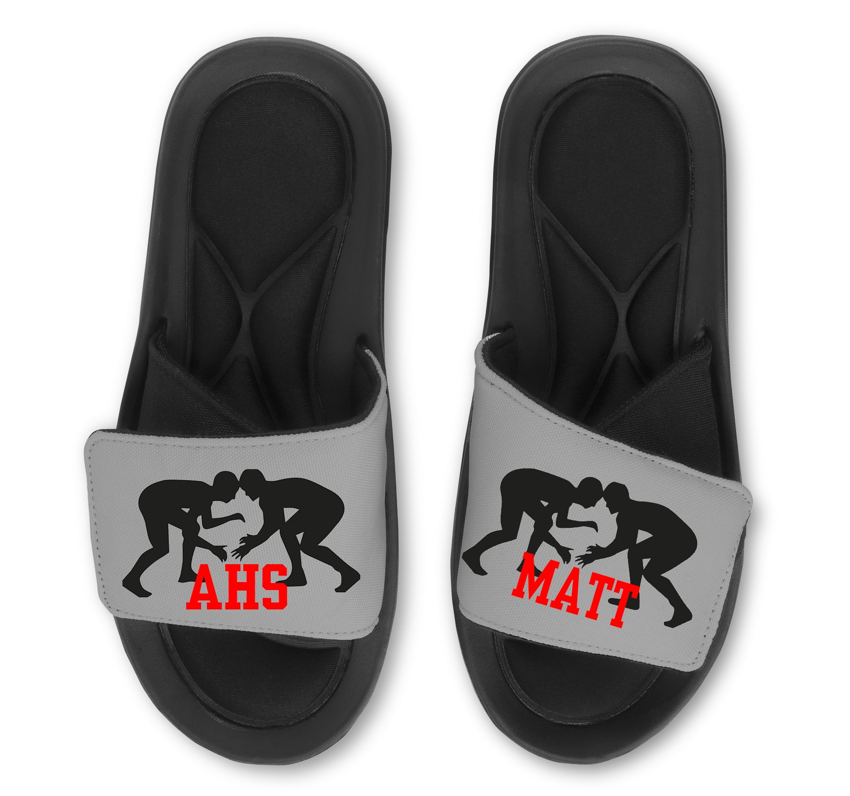 Wrestling Custom Slides / Sandals - Choose Your Colors