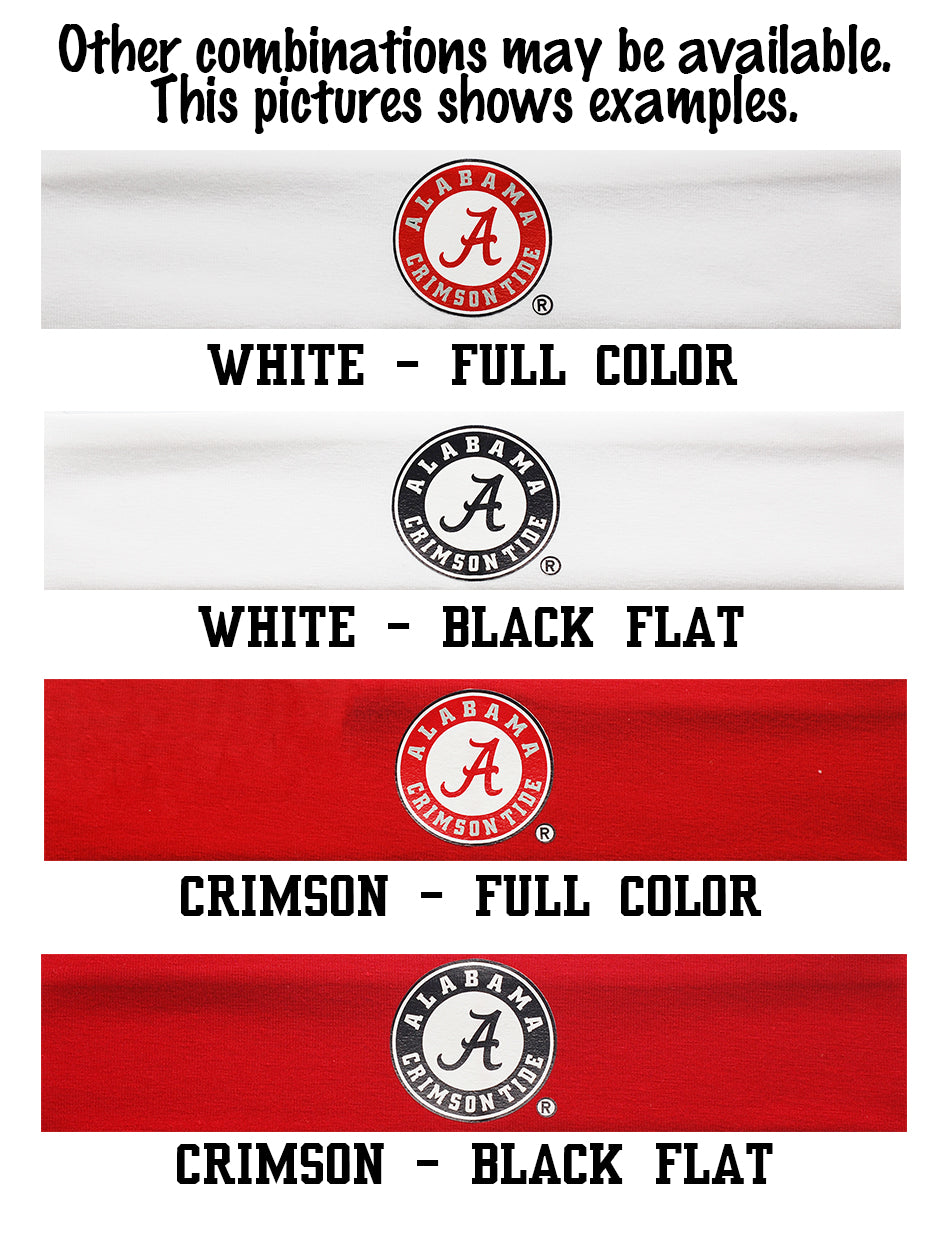 Alabama Circle Logo Headband - Choose Your Style