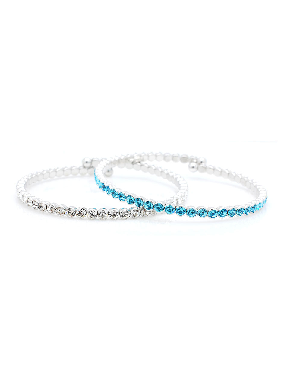 Deluxe Flex Bracelet - 2 Piece Set