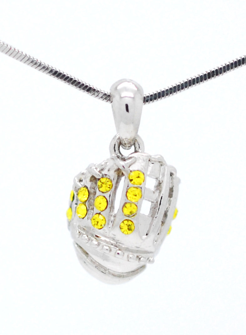 Baseball/Softball Glove Necklace - Mini