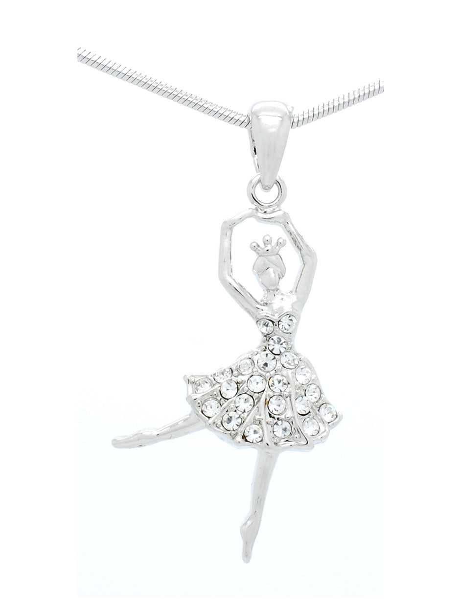 Ballerina Dancer Necklace - Mini