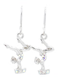 Gymnast DANGLE Earrings - Beam