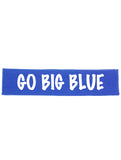 "Kentucky ""Go Big Blue"" Cotton Headband - Choose Your Style"