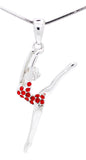 Dancer Gymnast Necklace - Leg Up