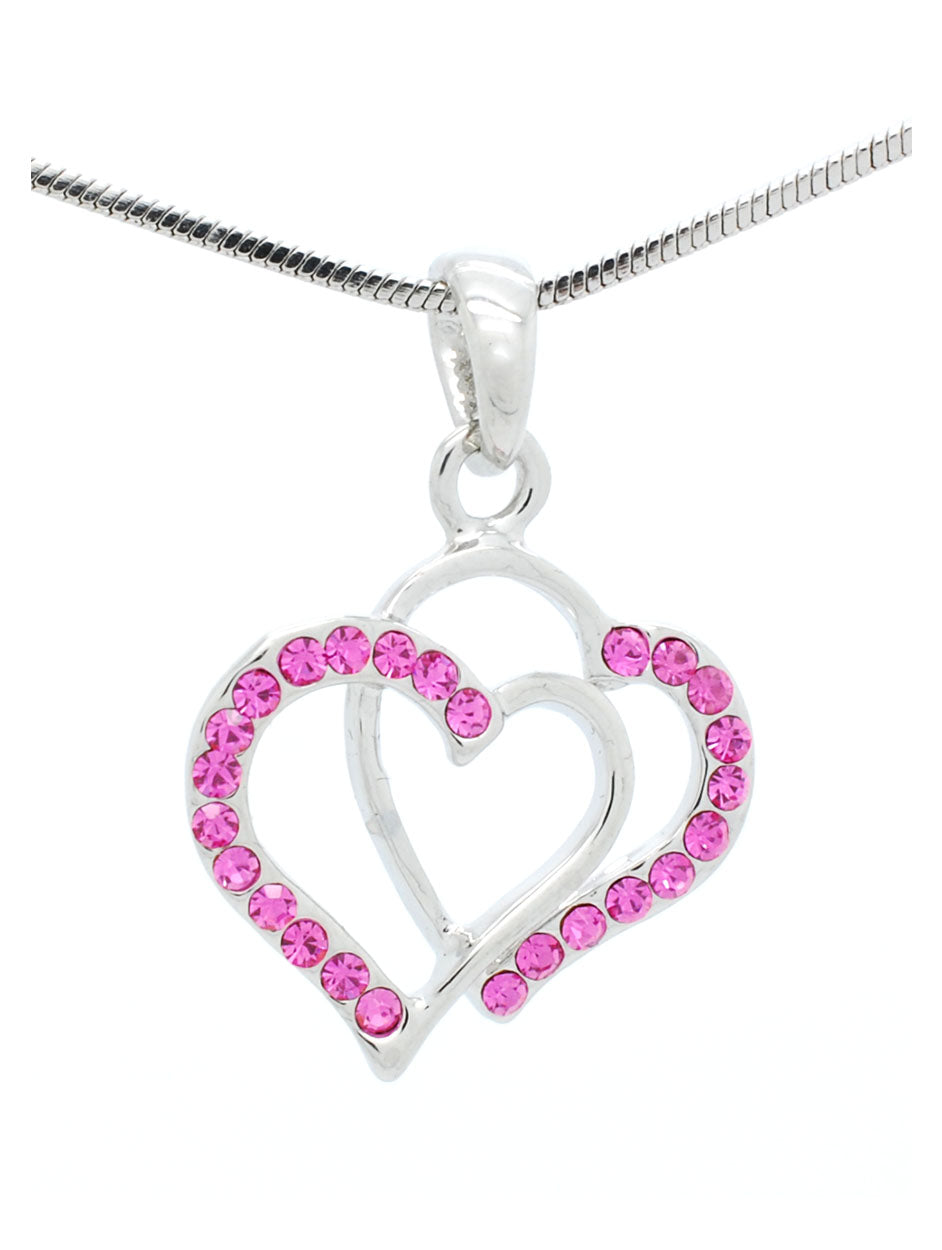 Mini Double Heart Necklace