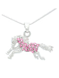 Horse Necklace Jumping