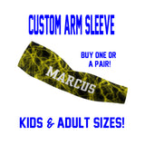 Custom Lightning Baseball Sleeves
