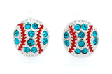 Baseball/Softball POST Earrings - Mini