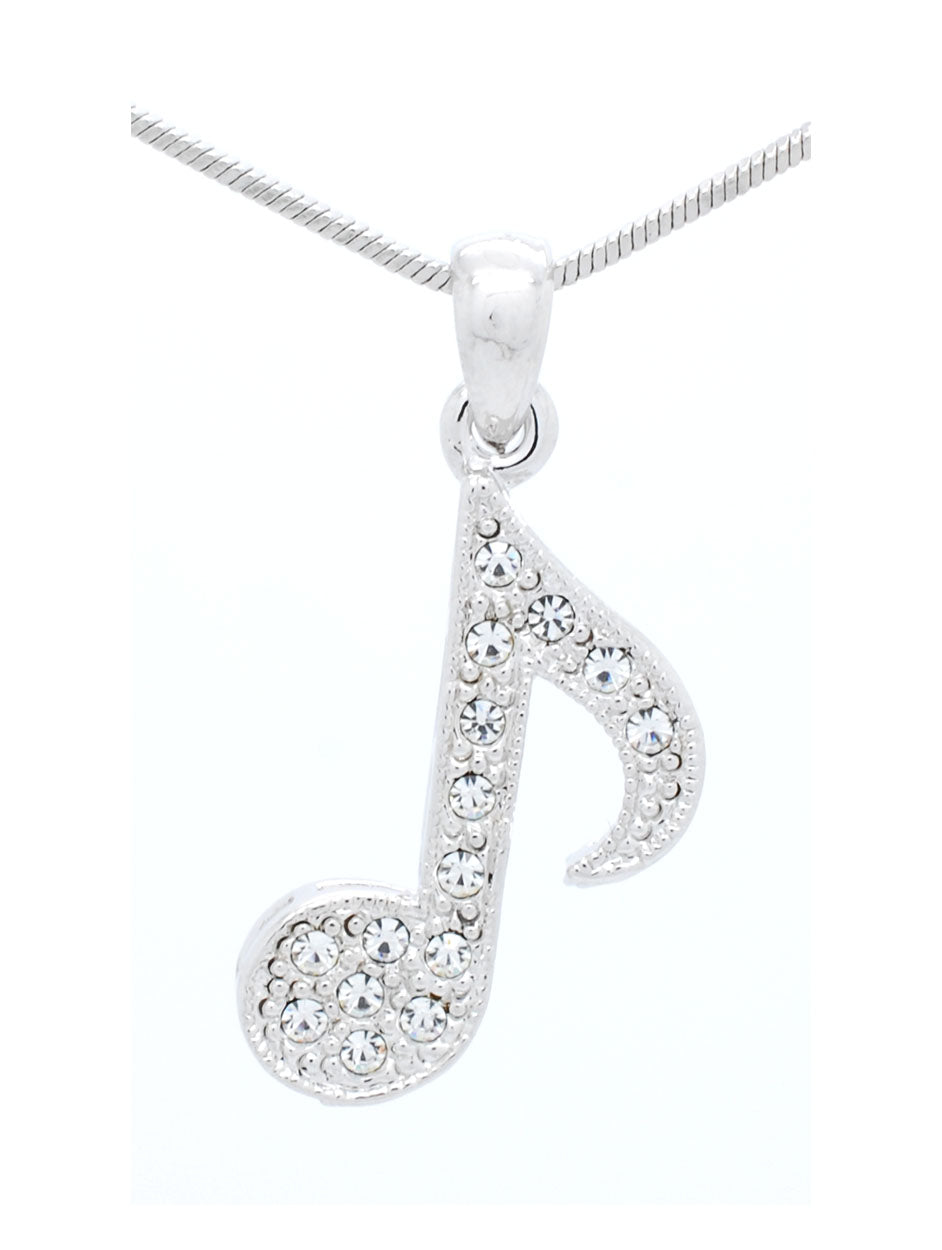 Eighth Note Necklace
