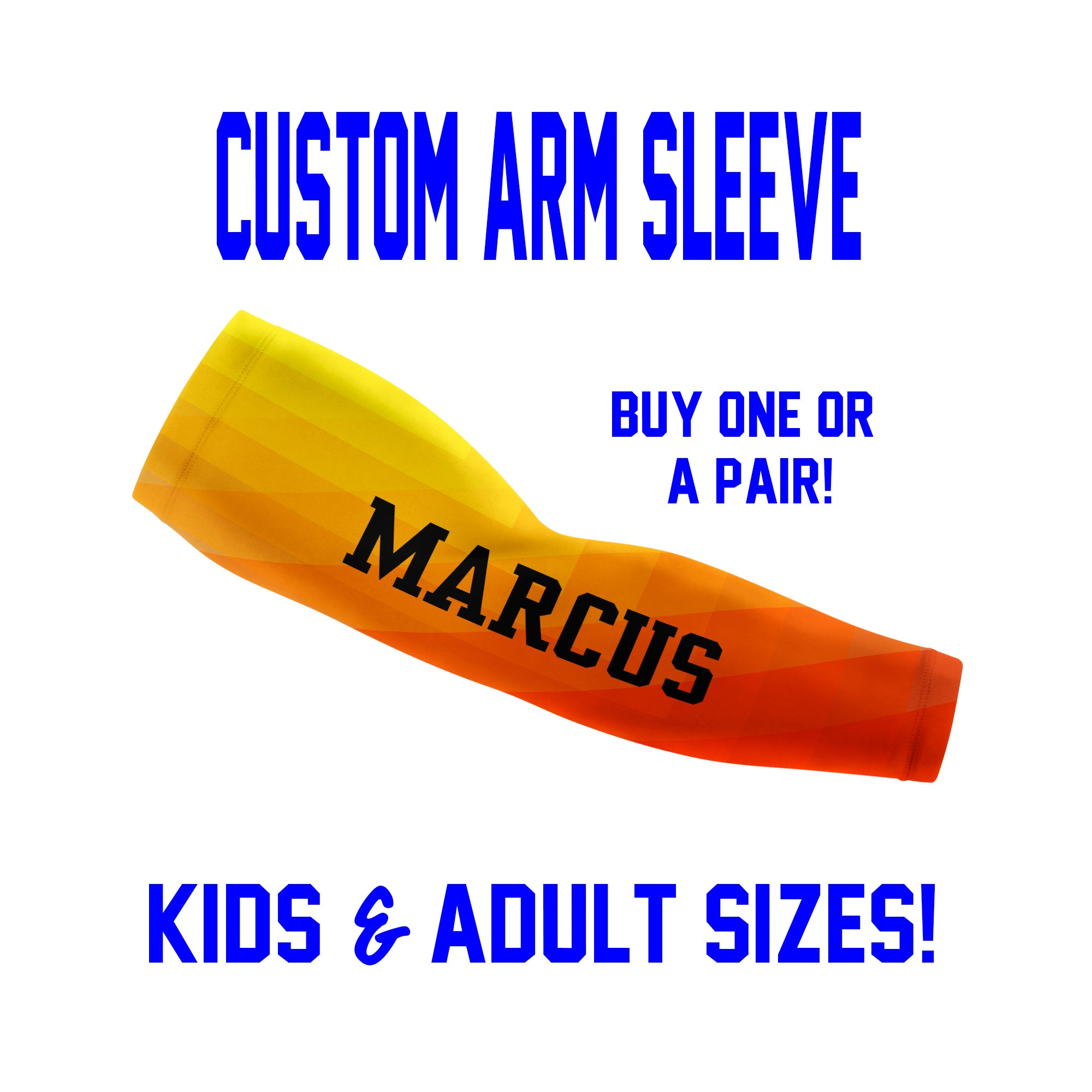 Custom Arm Sleeves Laces - Prism Background - Single or Pair - Choose Your Color