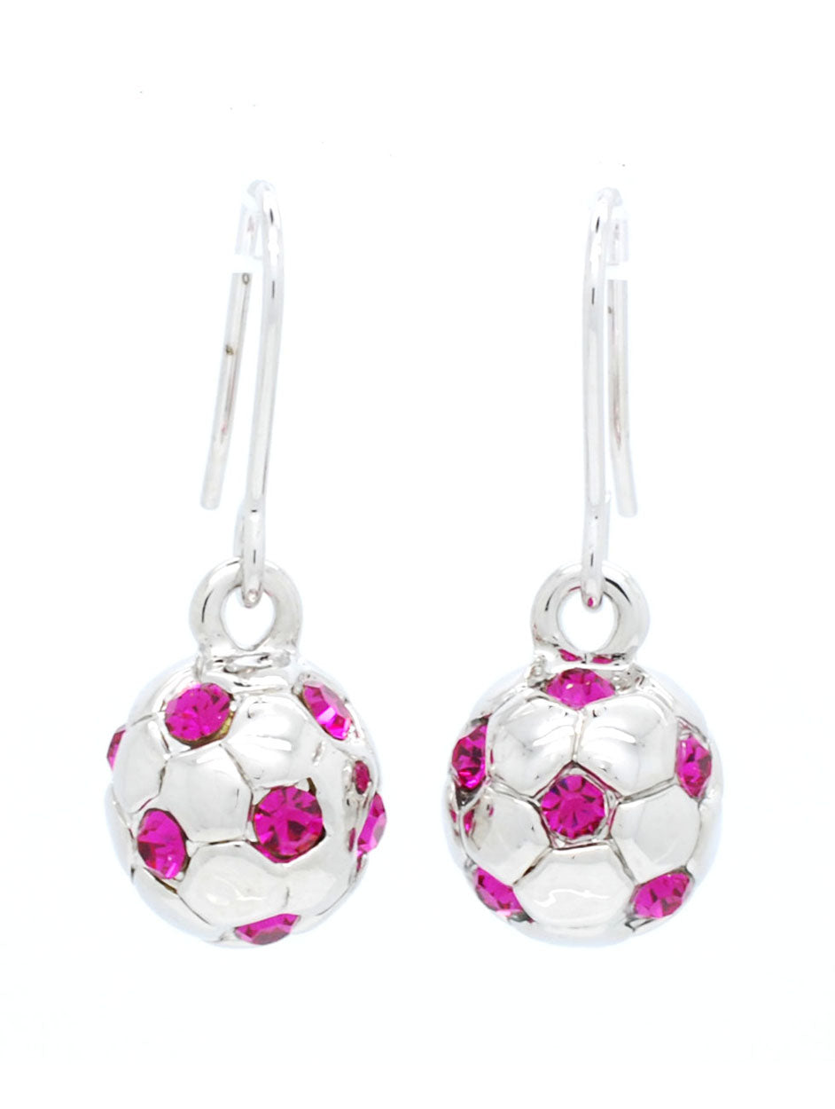 Soccer Ball Earrings - Full Ball