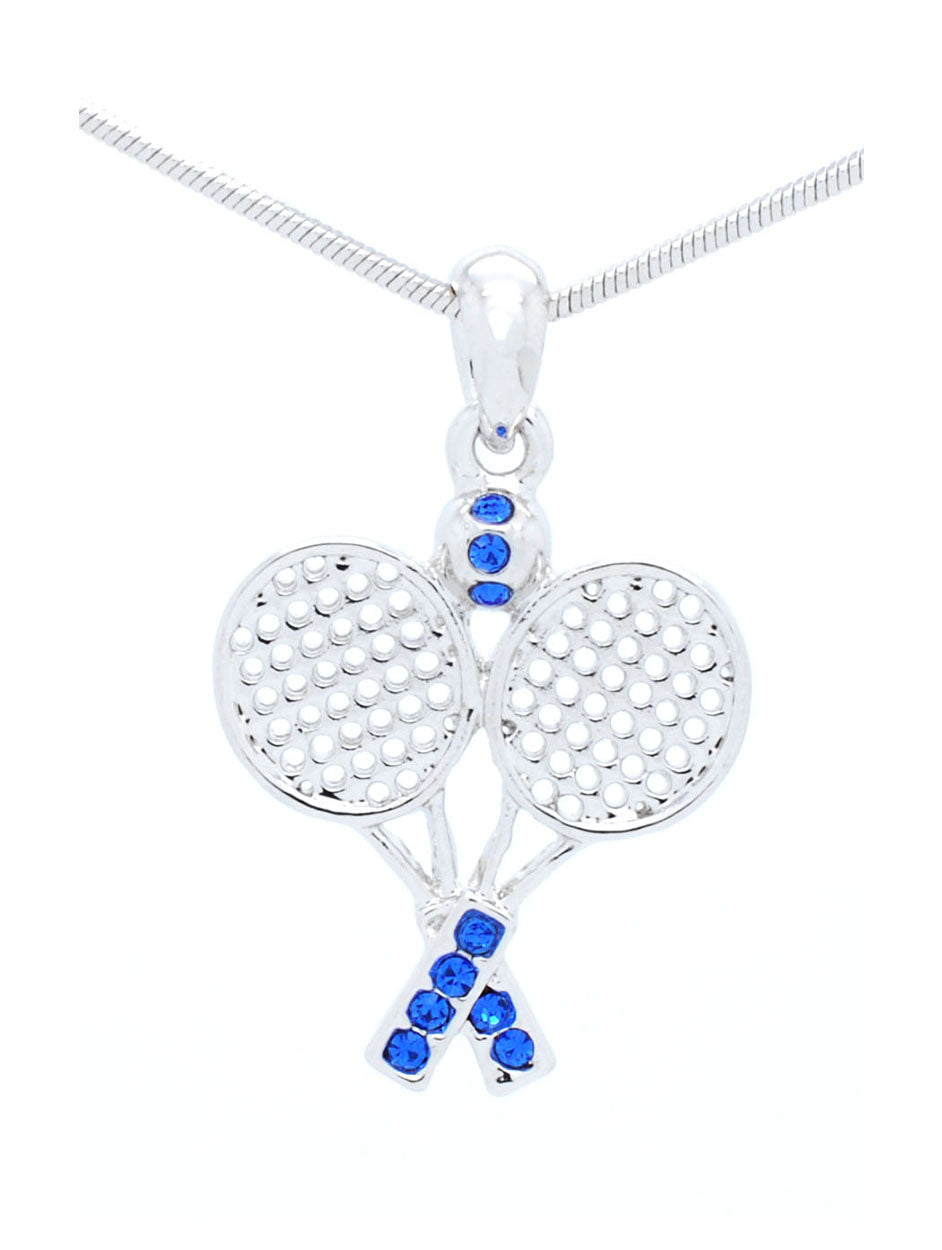 Tennis Racquet Necklace