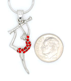 Twirling Girl Necklace