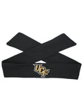 UCF Tie Headband - Black/Full Color Stacked Logo