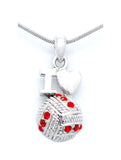 Volleyball LOVE Necklace