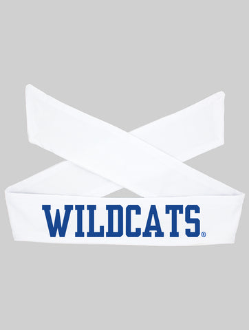 Kentucky UK Wildcats Tie Headband - White/Flat Royal