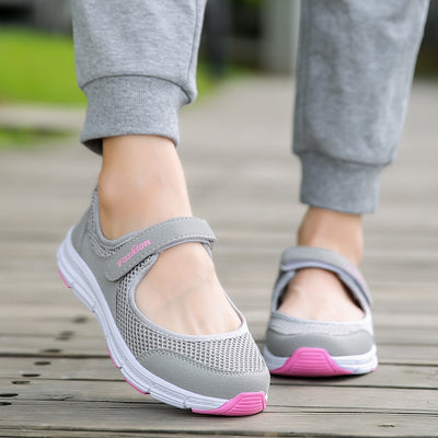 Women Sport Shoes Summer Breathable Brand Sneakers Outdoor Mesh Antislip Female Running Shoes