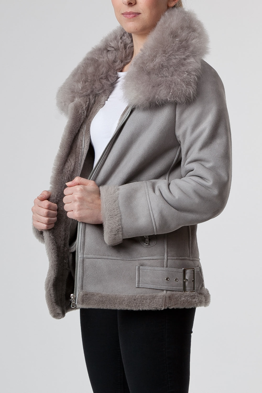 Chiodo Grigio Brown Womenswear