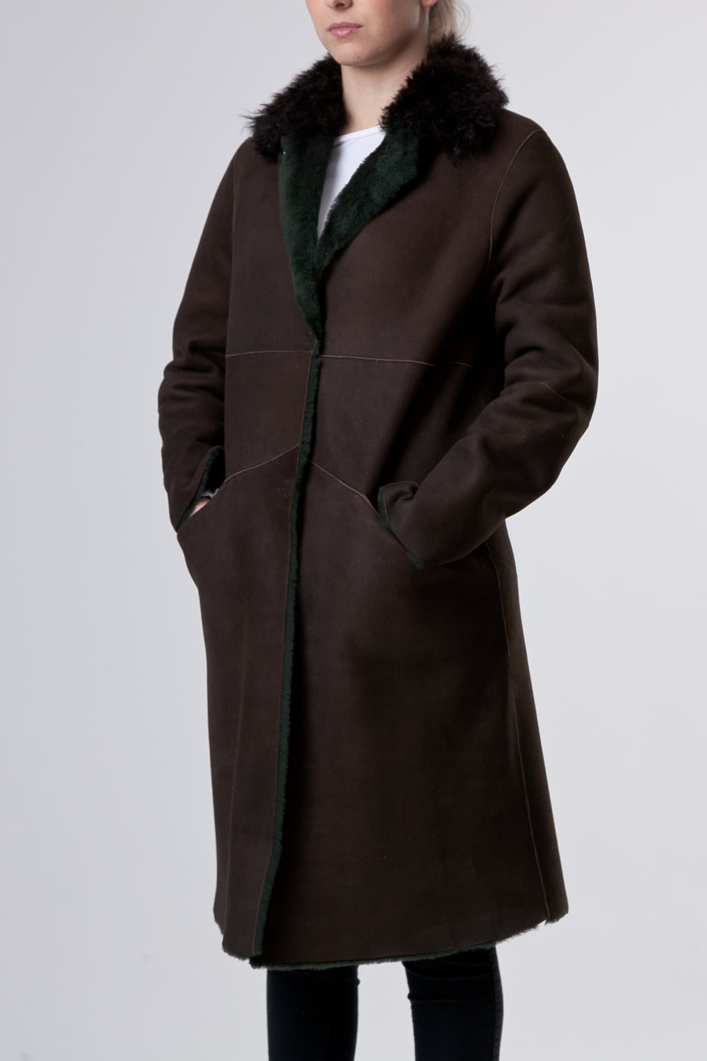 Il Cappotto Brown - Brown Coat