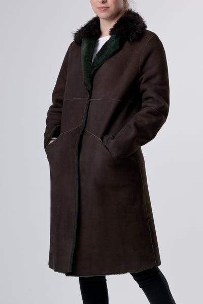 Il Cappotto Brown - Brown Coat Womenswear