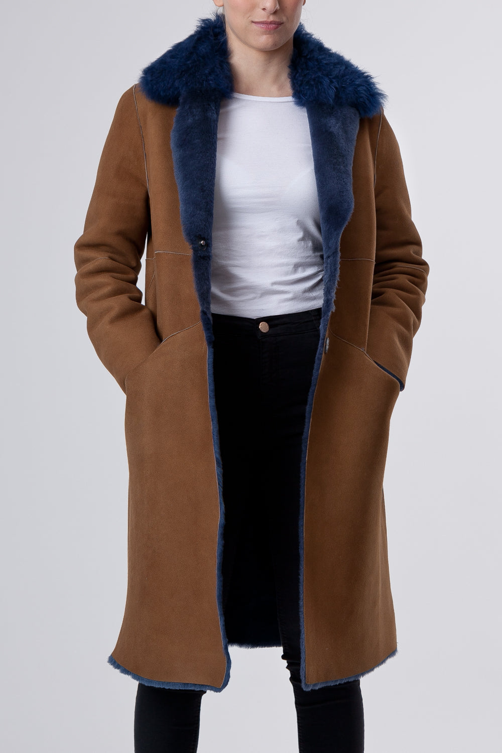 Womenswear Cappotto Cognac