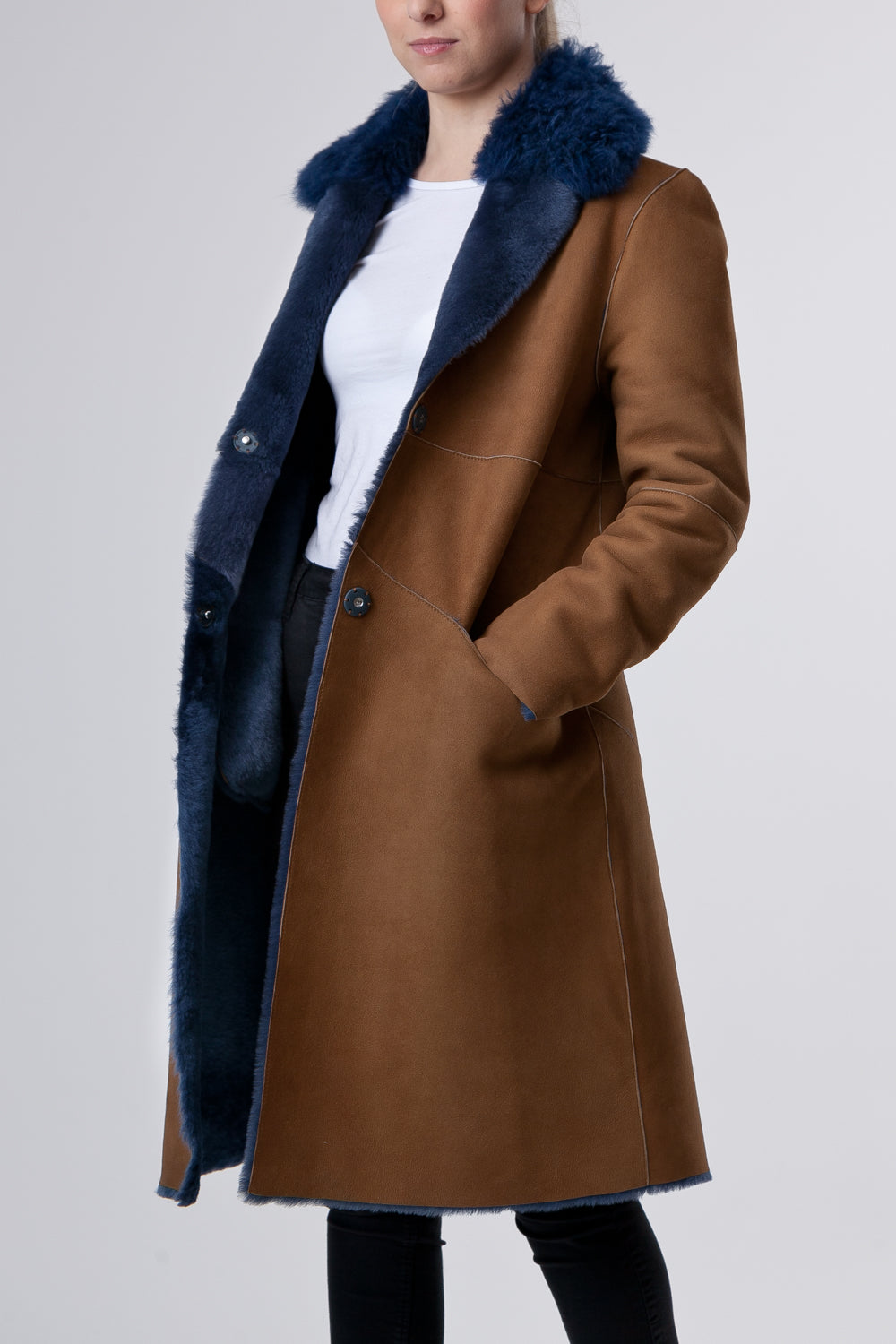 Cappotto Cognac Women's Wear