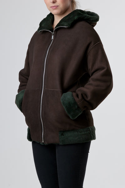Bomber Brown outwear women