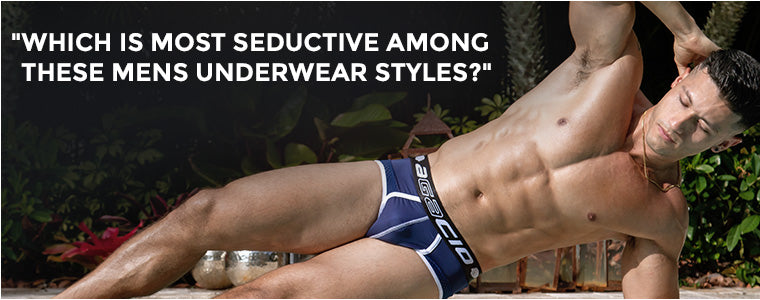 Which is most seductive among these Mens Underwear styles?