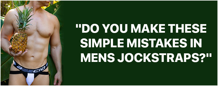 Do You Make These Simple Mistakes In Mens Jockstraps?