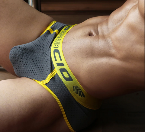 Nylon Mens brief underwear