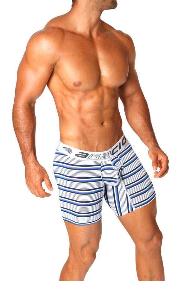 Agacio AG5923  Long Boxer Stripes