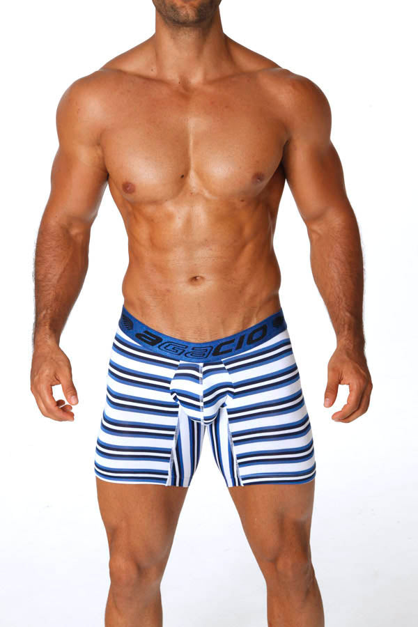 Agacio AG5928  Long Boxer Stripes