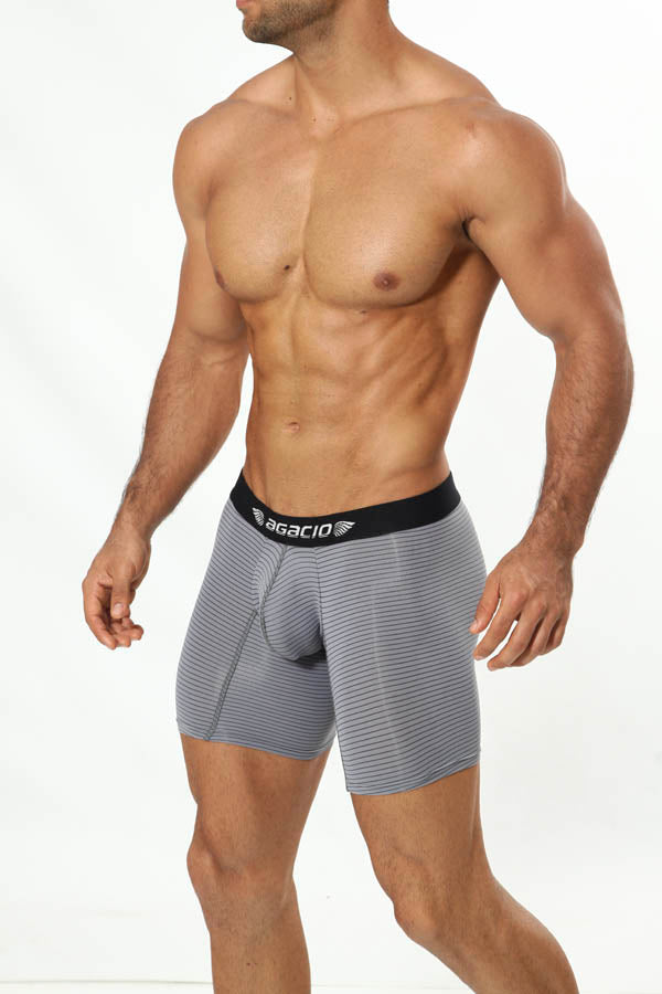 Agacio AG5944  Long Stripes Boxer