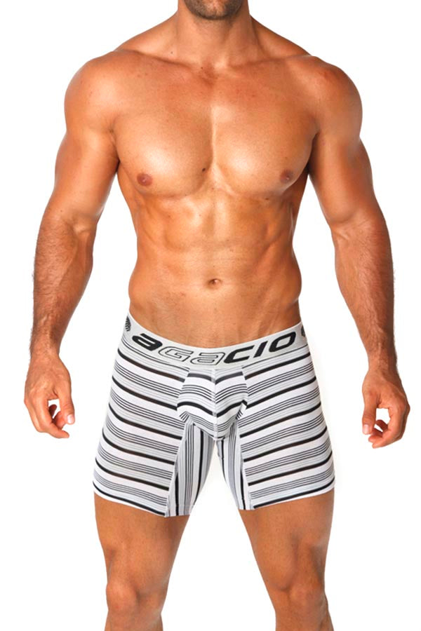 Agacio AG5950  Long Boxer Stripes