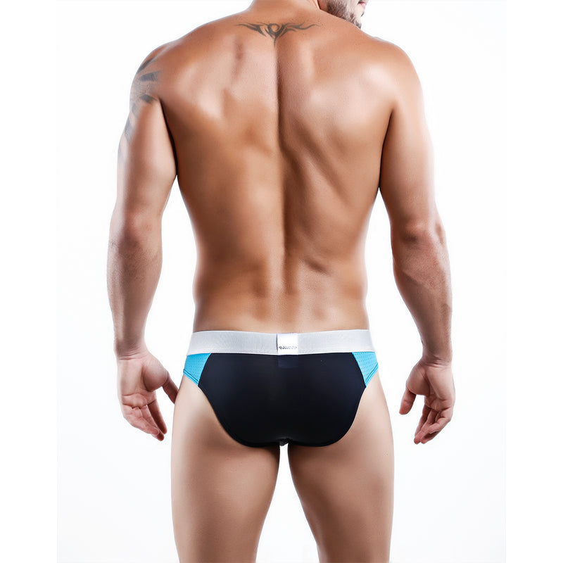 Agacio AG6807 Dominant Bikini Brief White/Navy