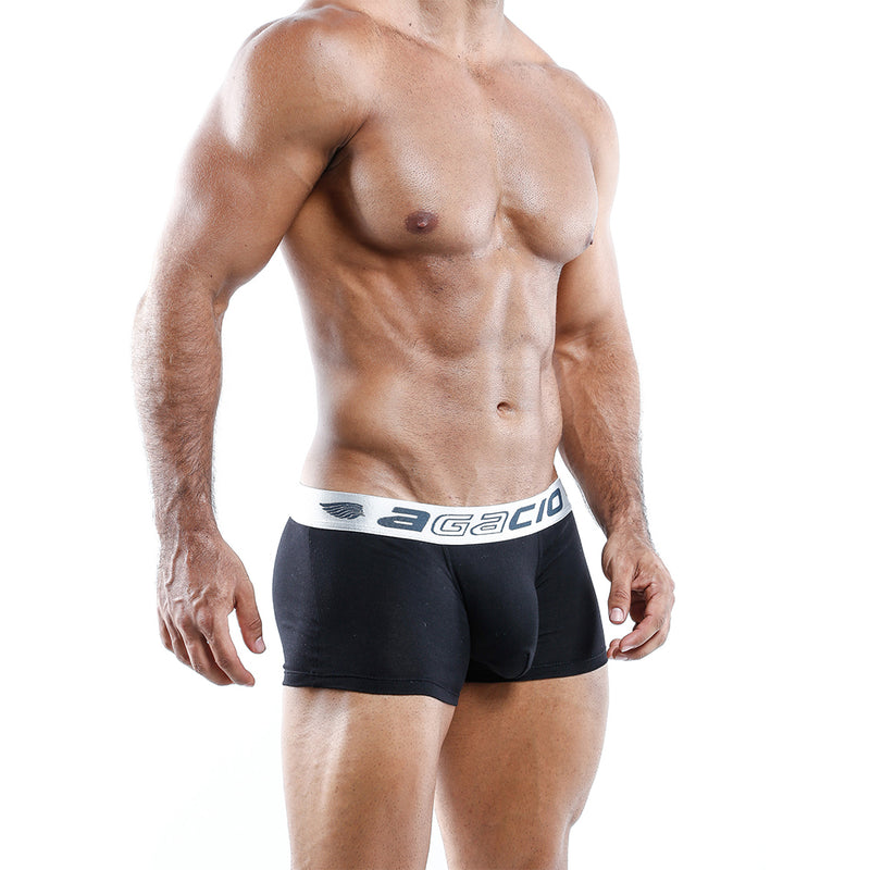 Agacio Men's Sexy Boxer Brief Lightweight Underwear for Maximum Comfort