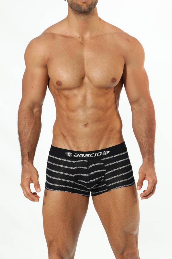 Agacio AG5935  Long Boxer Horizontal Stripes