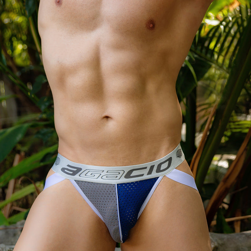 Agacio AGJ018 Mesh Back Brief