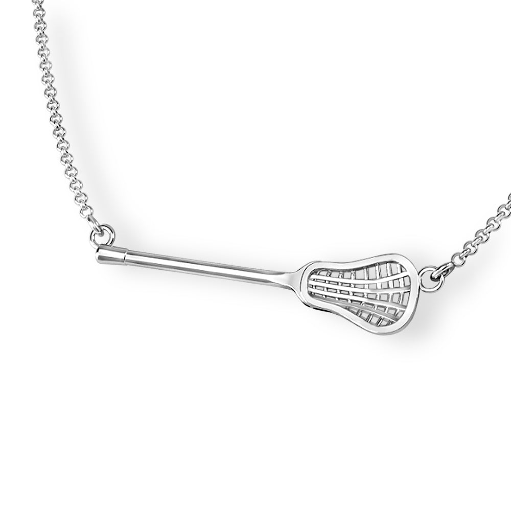 lacrosse necklace- lacrosse girls jewelery for lacrosse coach gifts and lacrosse team gifts ideas