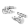Lacrosse stick head cufflinks-  lacrosse jewelry - Lacrosse GIfts For Coaches